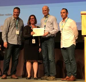 Sautter Award photo